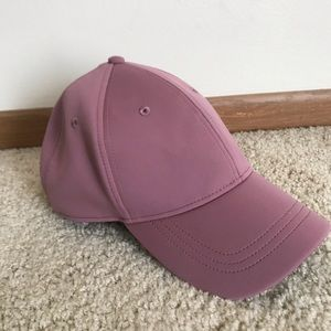 Lululemon baller hat. Rose color